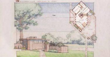 Дизайн мини-дома от Frank Lloyd