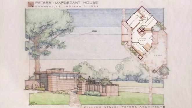 Дизайн мини-дома. Проект Frank Lloyd