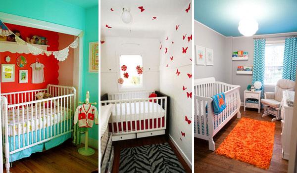 Интерьеры маленьких детских комнат