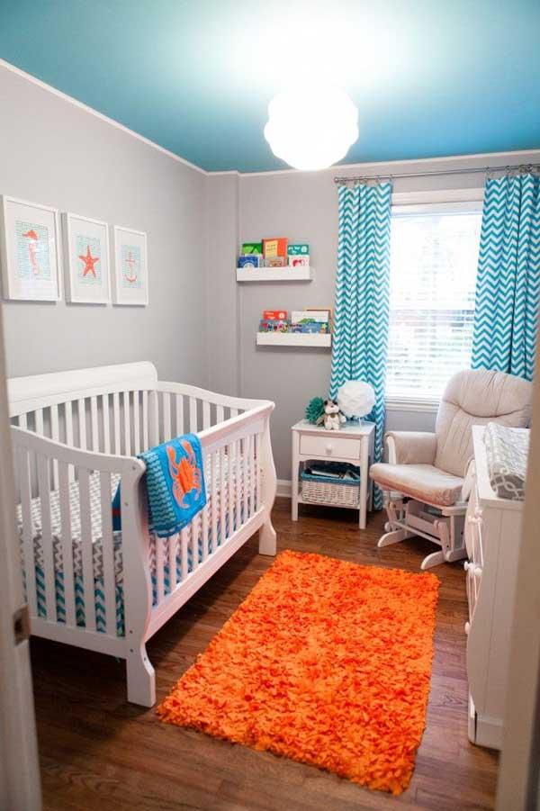 Интерьер маленькой детской комнаты