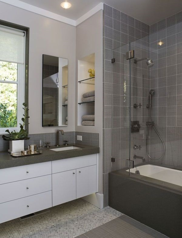 31 способ как недорого сделать ванную комнату уютной 45