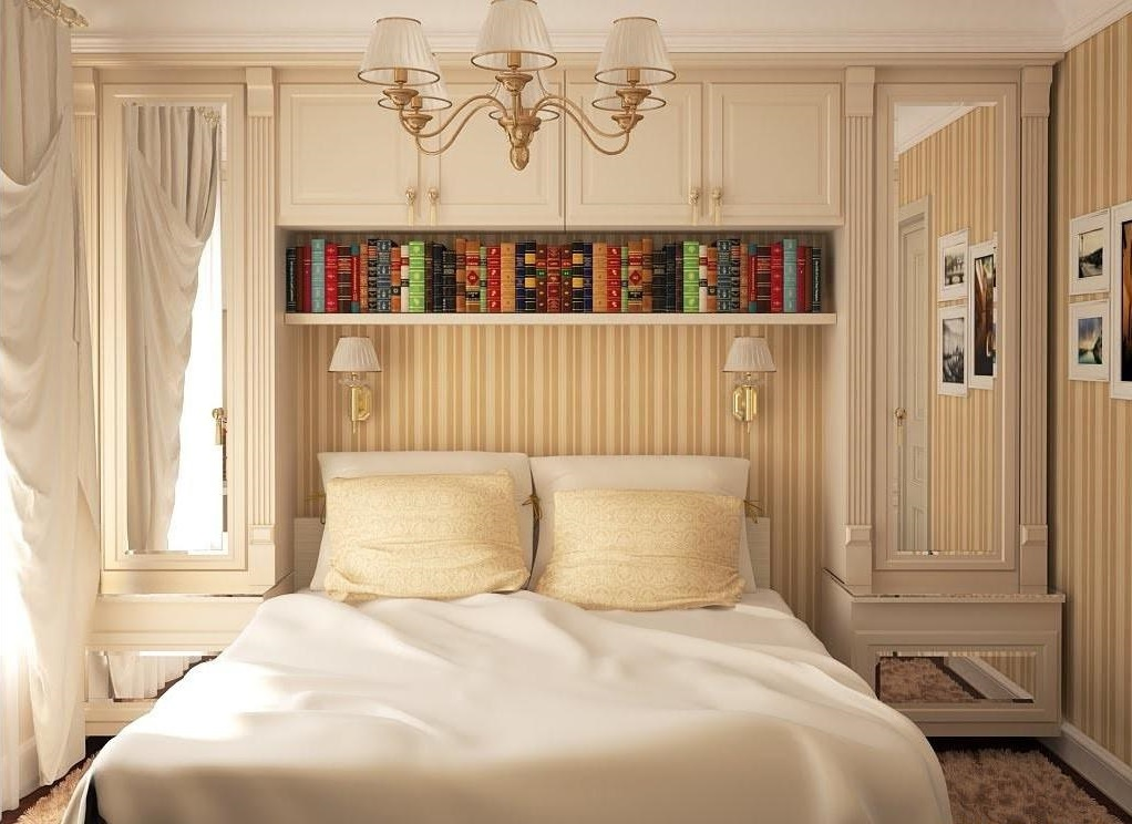 уютная маленькая спальня фото