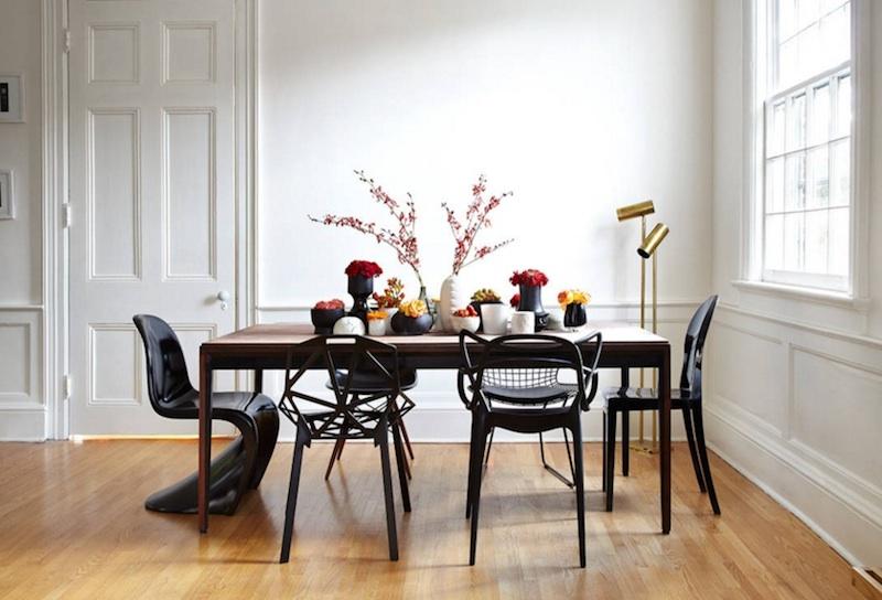 Оригинальная идея оформления столовой - фото 23
