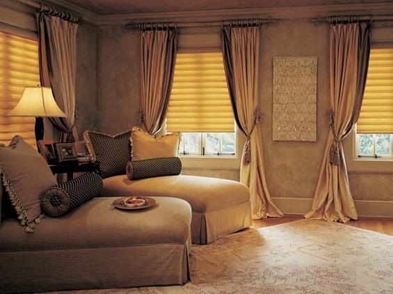 Спальня в бронзовой палитре