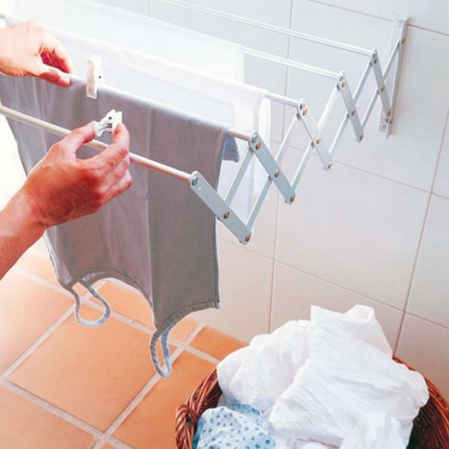 Своими руками сушка белья в ванную