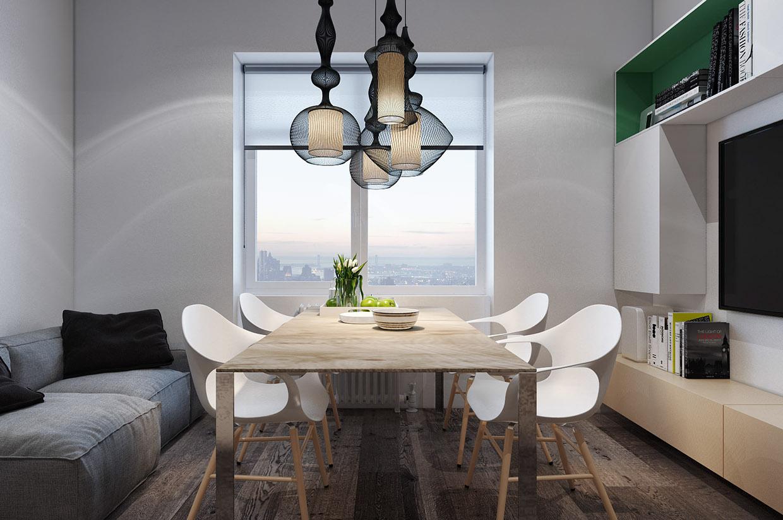 Дизайн для маленькой квартиры в стиле лофт - фото 2