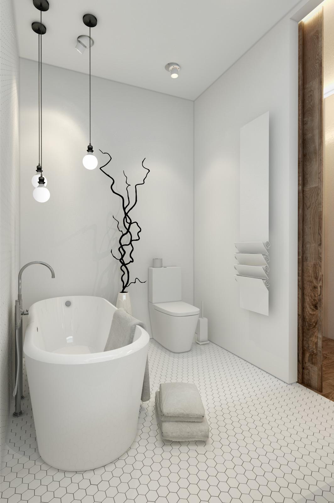 Дизайн светлого коридора в маленькой квартире