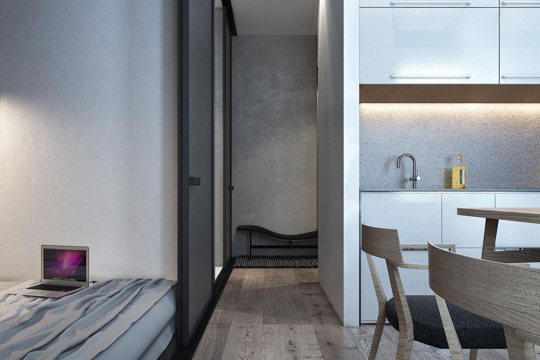 Дизайн для маленькой квартиры в скандинавском стиле - фото 4