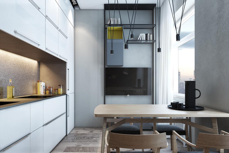 Дизайн для маленькой квартиры в скандинавском стиле - фото 2
