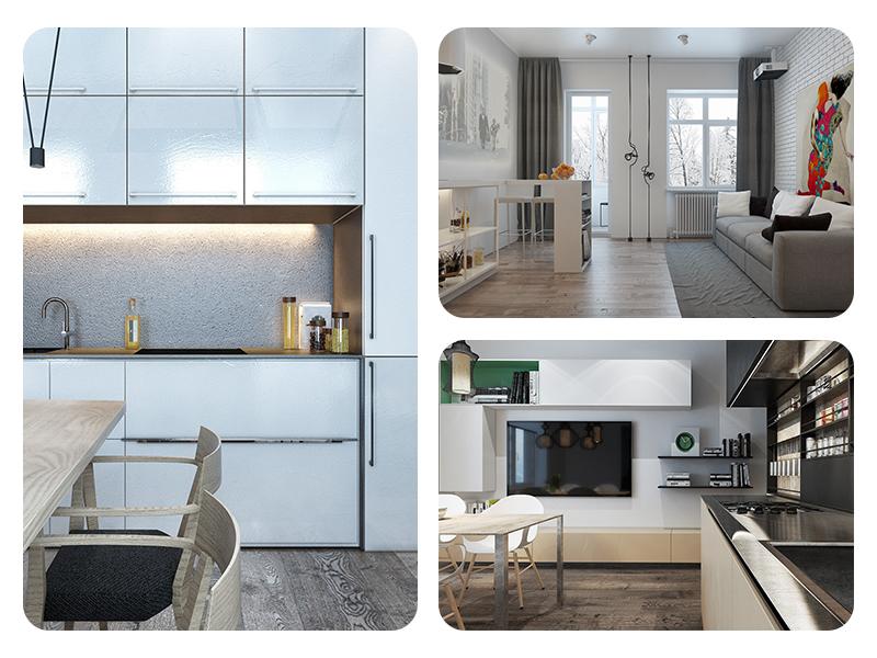 Идеи лаконичного дизайна для маленьких квартир