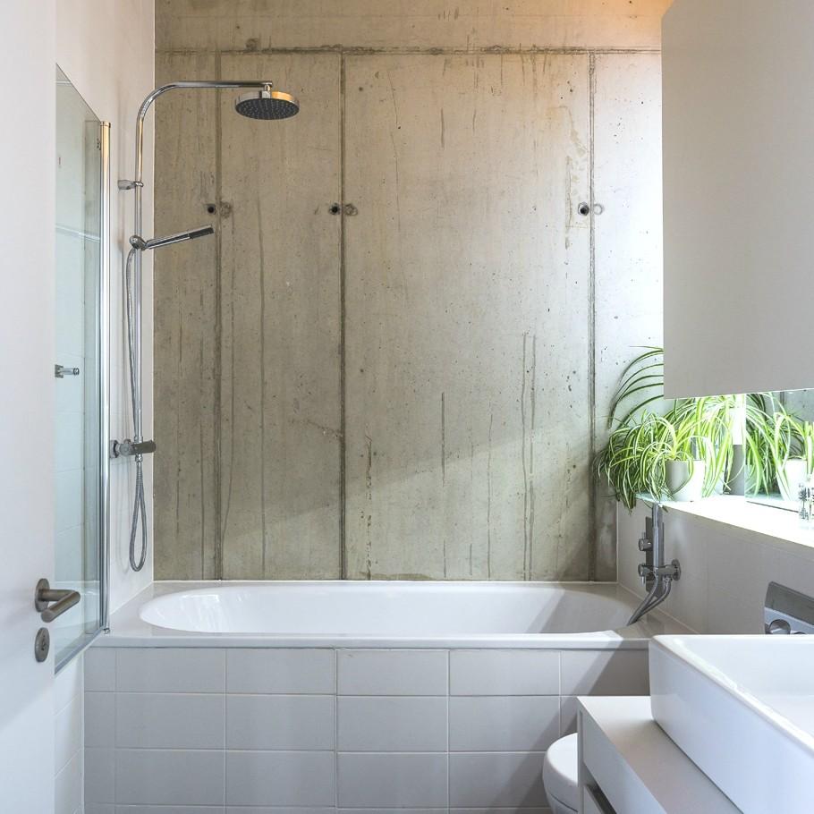 Идея для маленькой ванной комнаты - совмещенный санузел. Фото 2