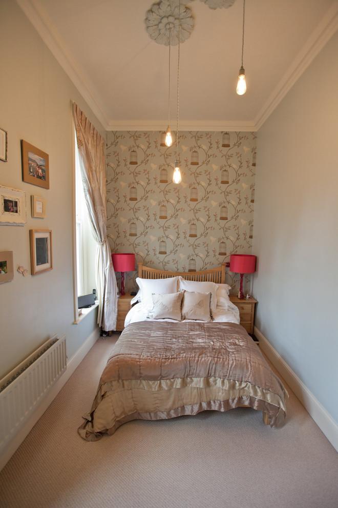 Интерьер уютной маленькой спальни