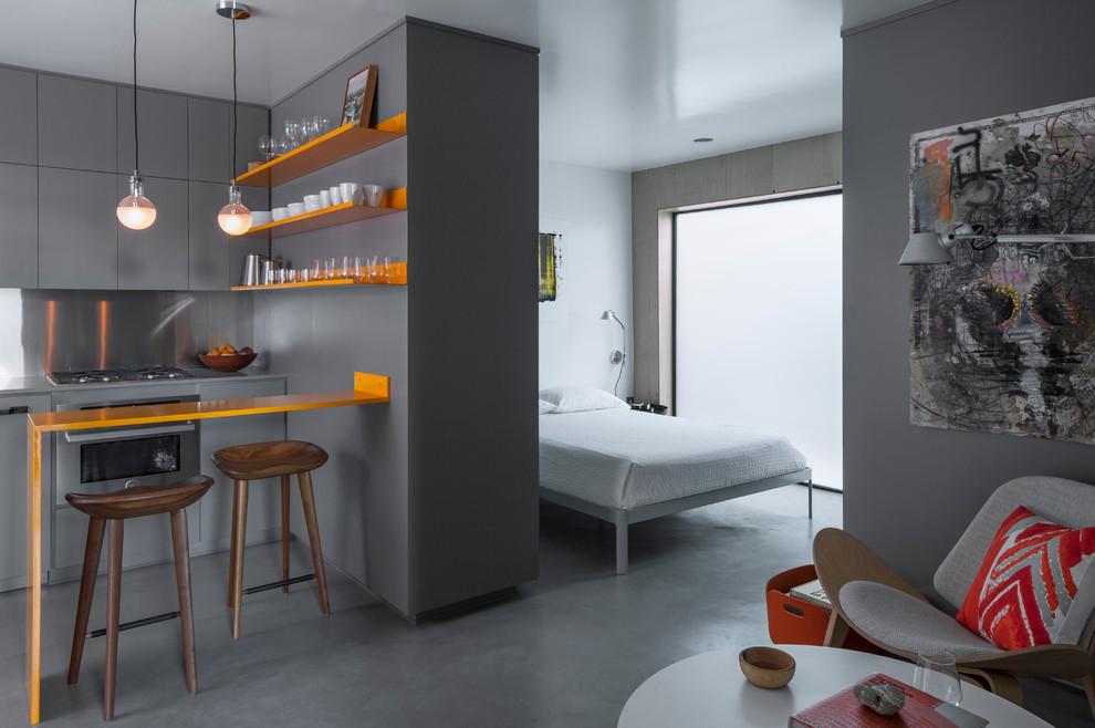 Цветовые акценты в интерьере маленькой квартиры