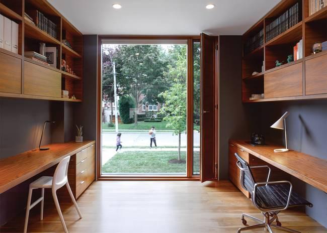 Идея освещения домашнего кабинета