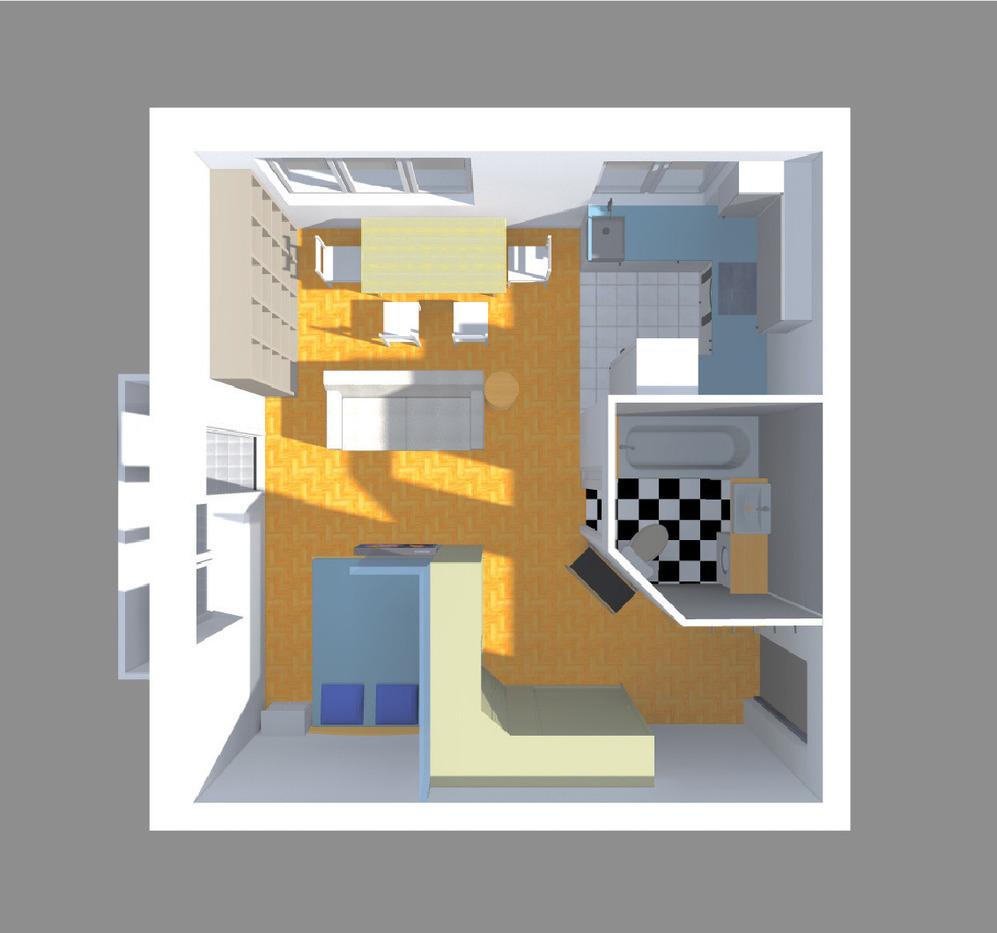 Перепланировка однокомнатной квартиры в квартиру-студию
