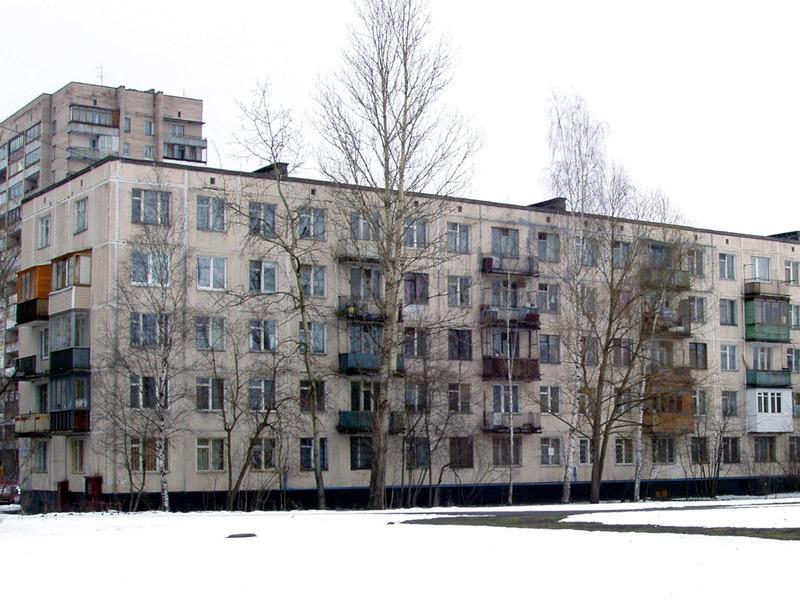 Внешний вид многоквартирного дома