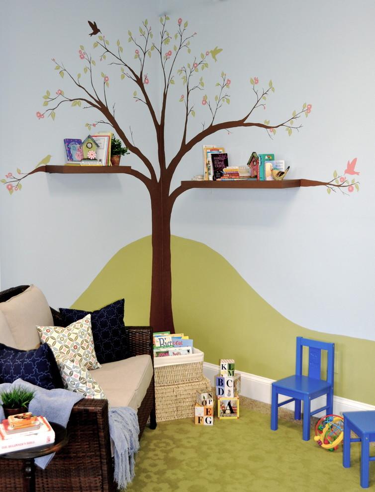 Wandgestaltung kinderzimmer basteln