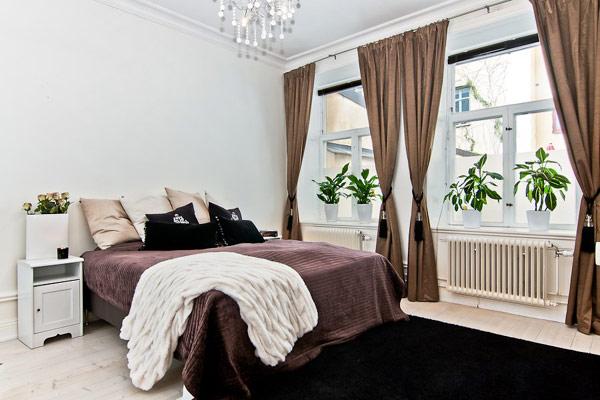 Роскошная маленькая спальня