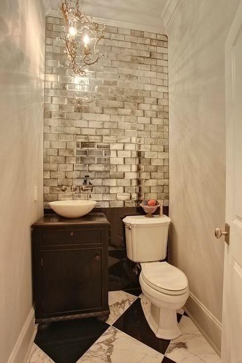 Отражающие поверхности в ванной