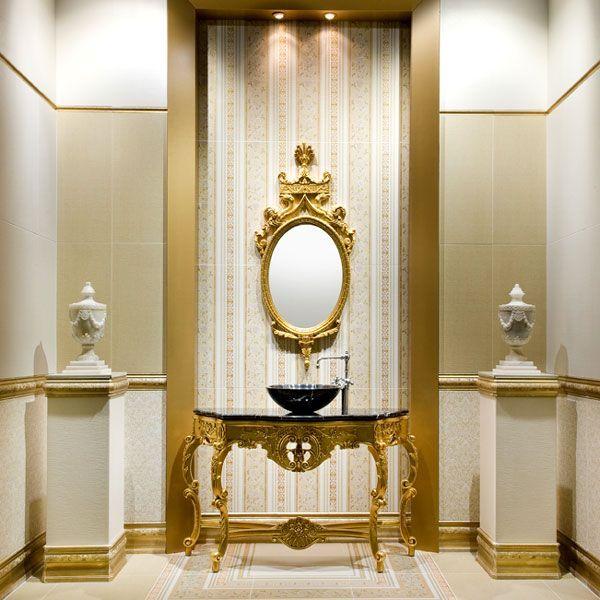 Элегантная мебель в ванной