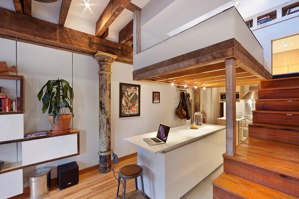 Интерьер небольшой квартиры на Манхеттене