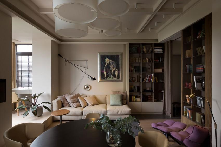 Интерьер двухкомнатной квартиры в Киеве