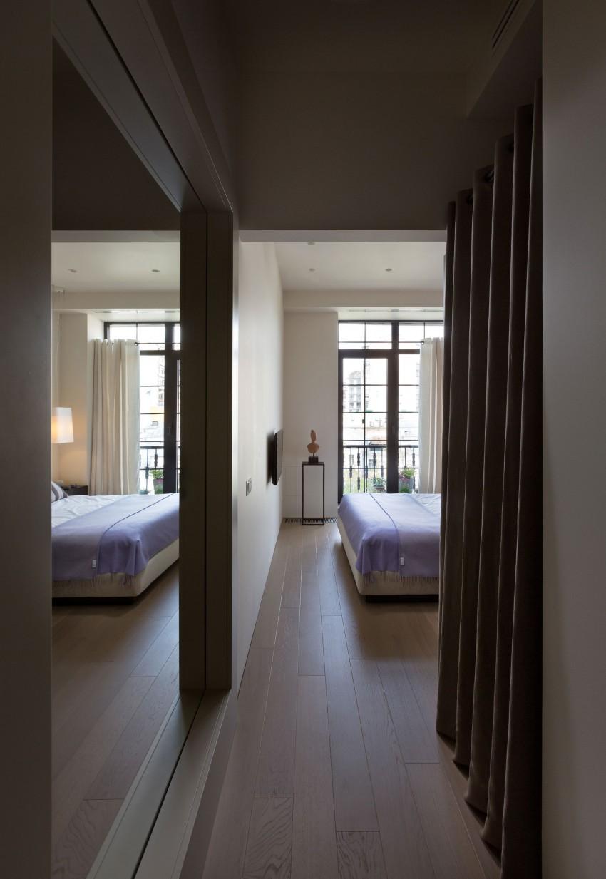 Спальня двухкомнатной квартиры в Киеве