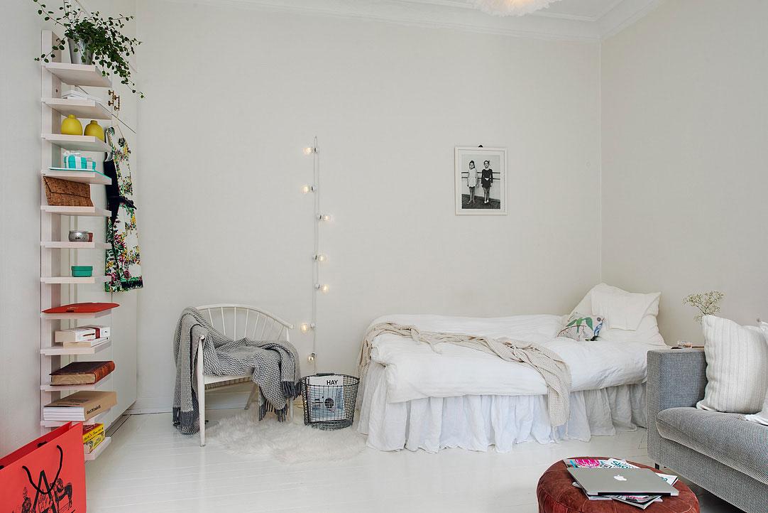 Спальное место в гостиной