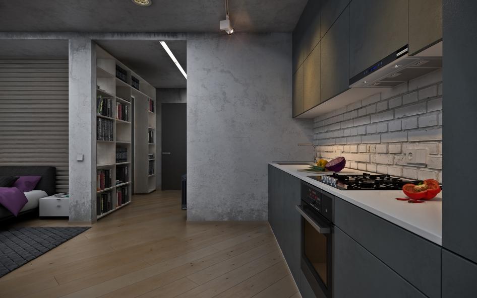 Дизайн интерьера в стиле лофт