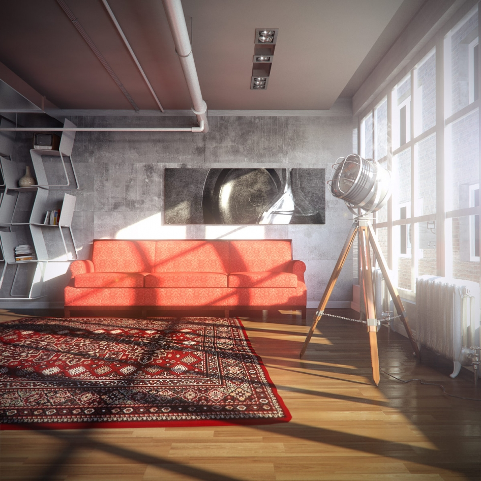 Пример дизайна интерьера маленькой гостиной на фото