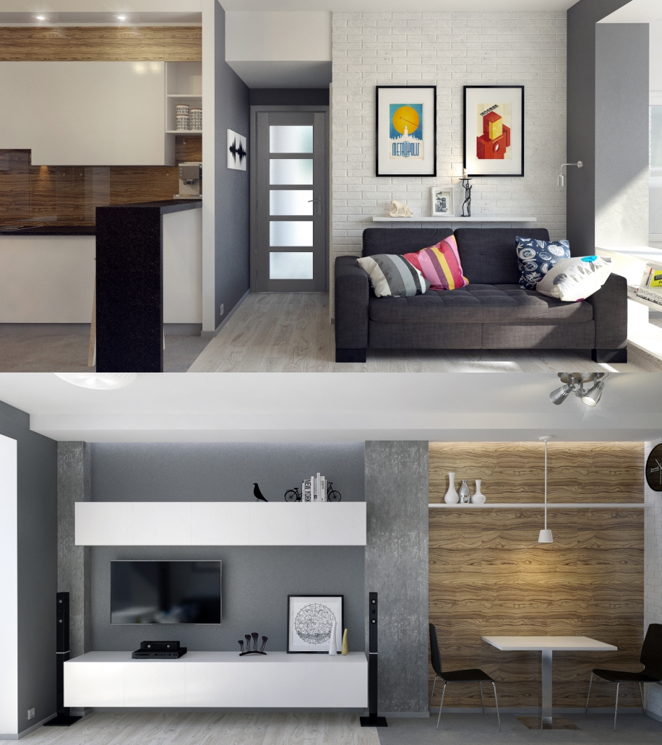 60Дизайн комнаты буквой г фото