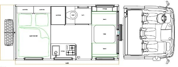 Схема домов на колесах