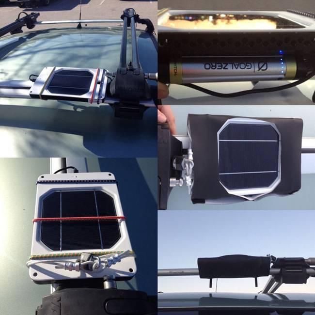 Интерьер дома на колёсах. Солнечные батареи на крыше