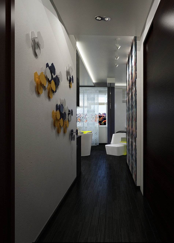 Инсталляция на стене