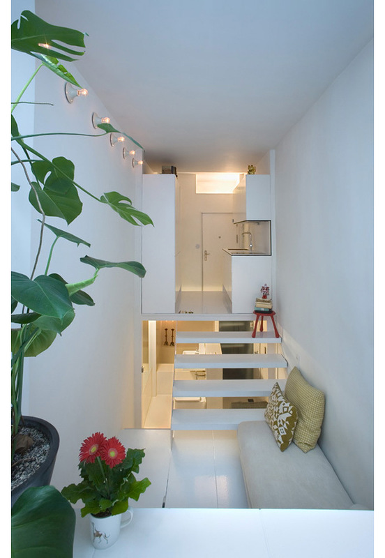 Нестандартная планировка маленькой квартиры