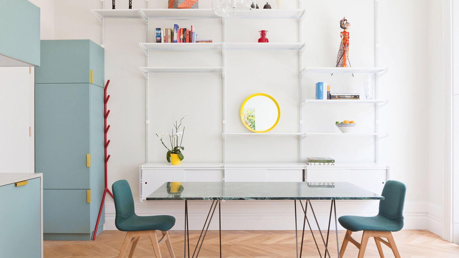 Интерьер компактной квартиры в Лондоне