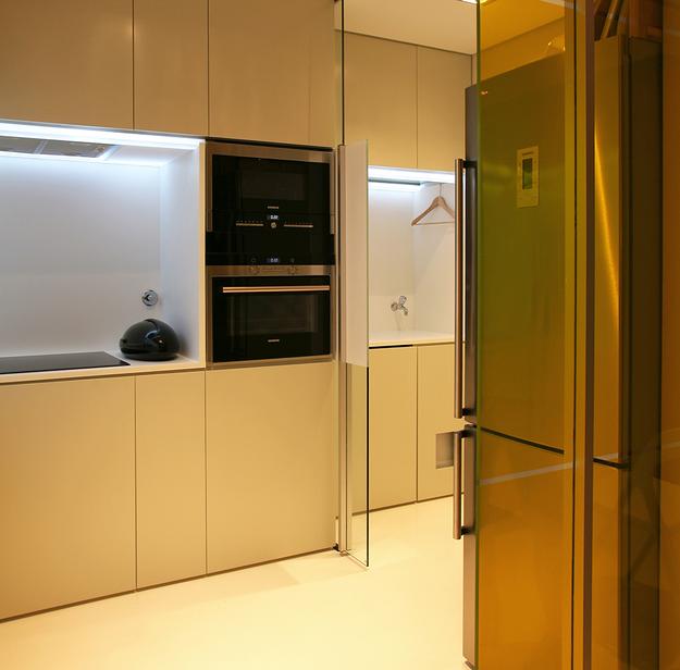 Передвижные стены на кухне