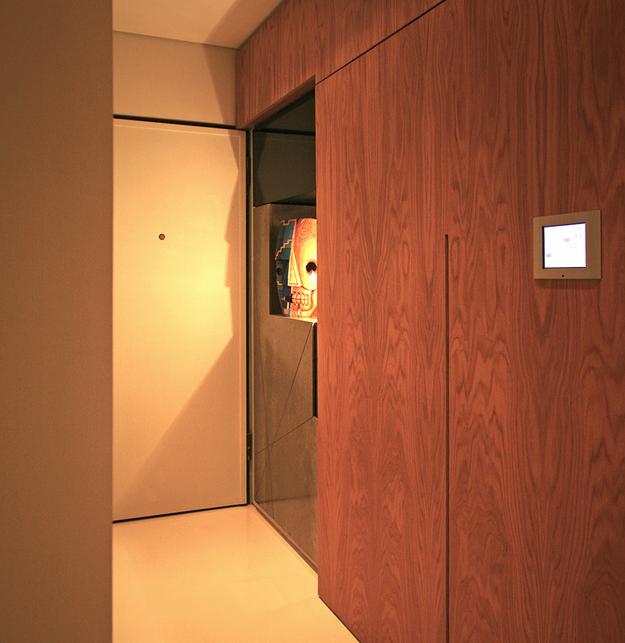 Передвижные стены в коридоре
