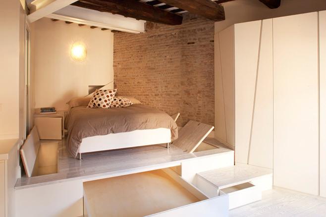 Спальня квартиры от студии дизайна Archifacturing