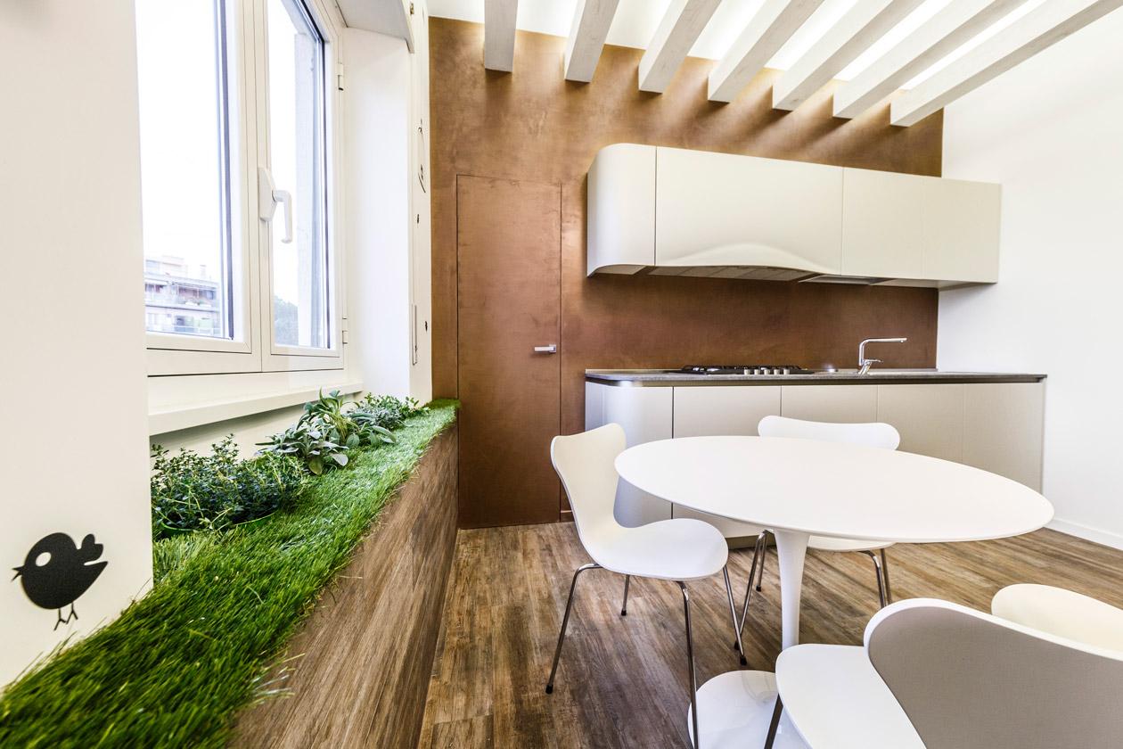 Современный интерьер квартиры в эко стиле