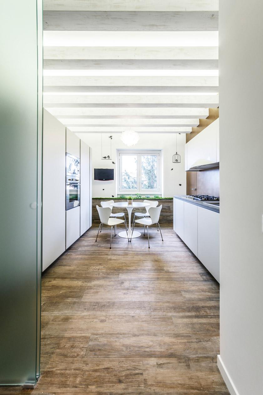 Интерьер кухни в эко стиле - фото 2