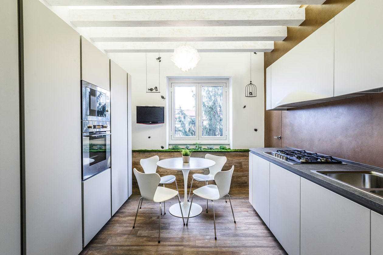 Интерьер квартиры в эко стиле - фото 2