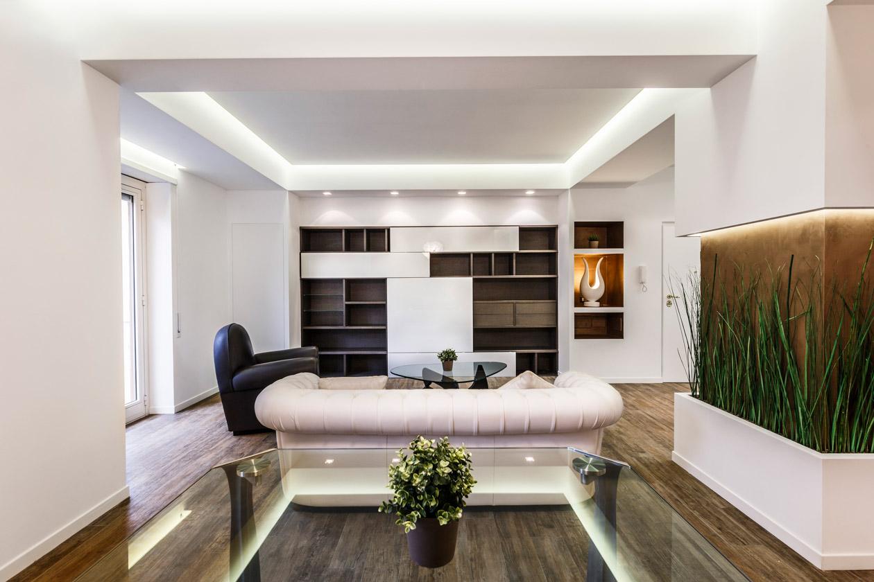 Интерьер гостиной в эко стиле - фото 3