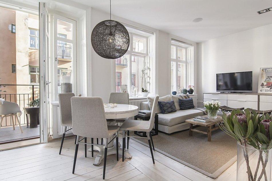 Дизайнерские апартаменты в Гётеборге, Швеция