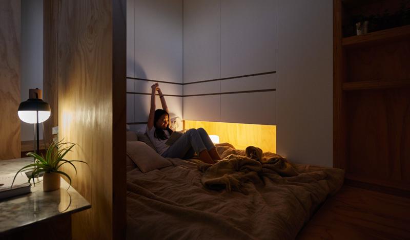 Спальное место в маленьком доме