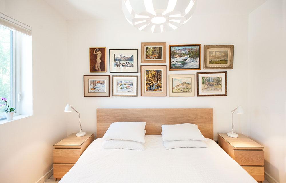 Интерьер маленькой спальни от студии «Solares»
