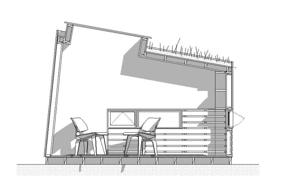 Схема интерьера маленького домика - фото 1