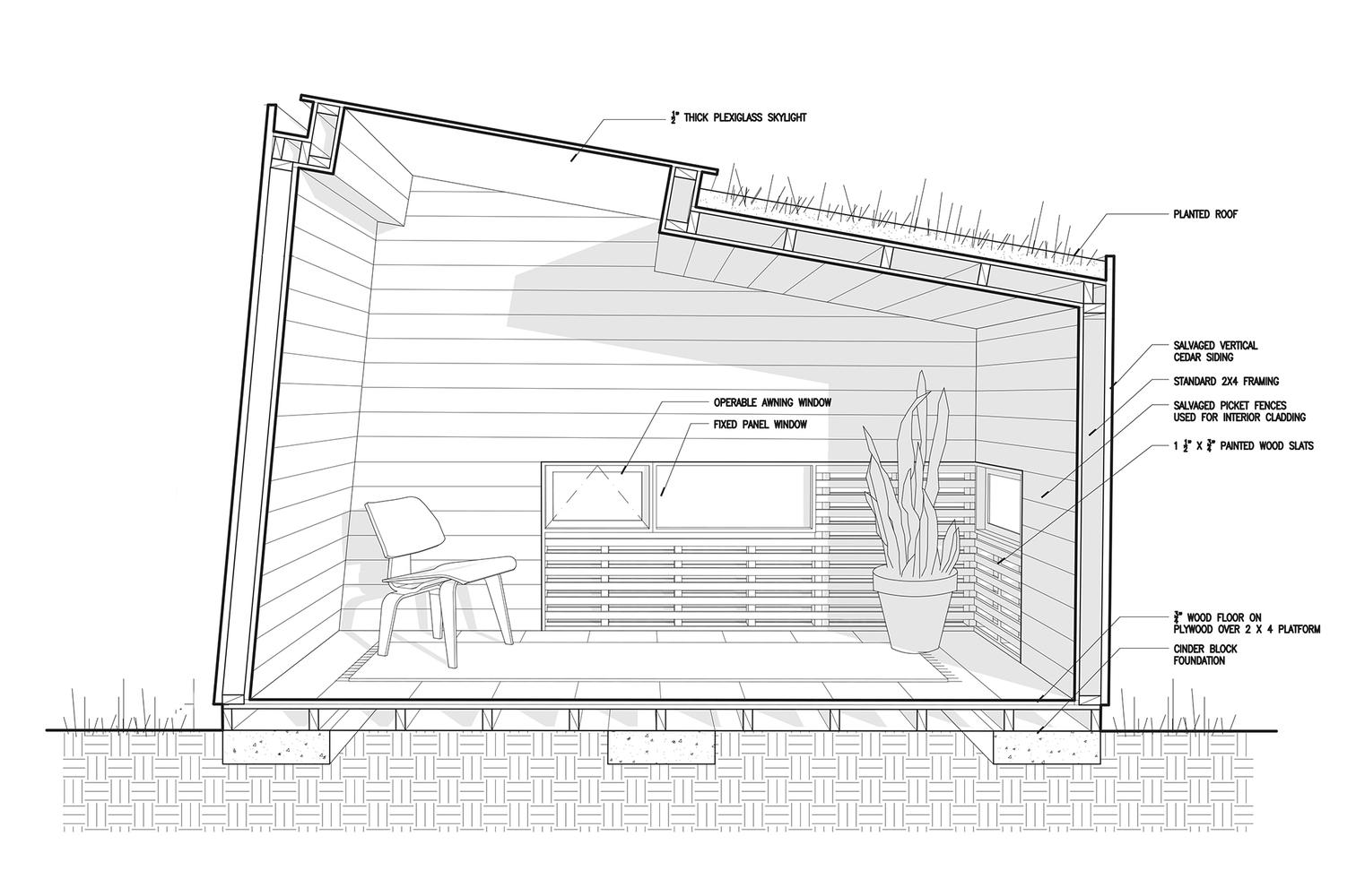 Схема интерьера маленького домика - фото 2