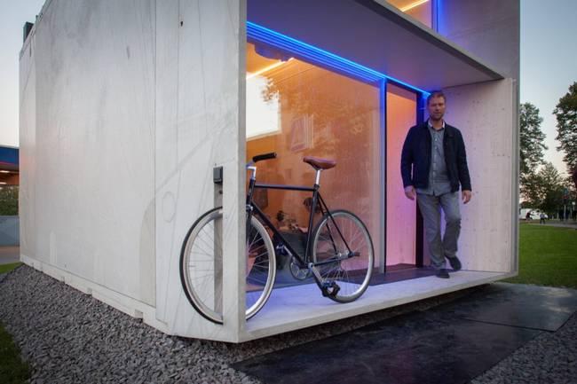 Дизайнерский интерьер маленького домика