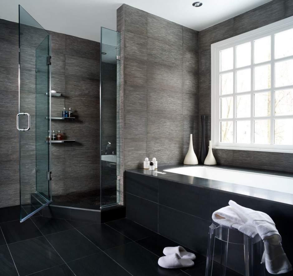 Ванна и душевая в ванной комнате